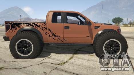 GTA 5 Ford Velociraptor 1500 hp vue latérale gauche