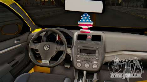 Volkswagen Jetta pour GTA San Andreas vue arrière