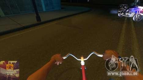 La première personne de la v3.0 pour GTA San Andreas cinquième écran