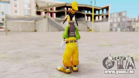 Kingdom Hearts 2 Goofy Default für GTA San Andreas dritten Screenshot