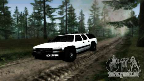 Chevrolet Suburban Offroad Final Version pour GTA San Andreas