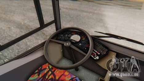 MAN NM 222 für GTA San Andreas Innenansicht