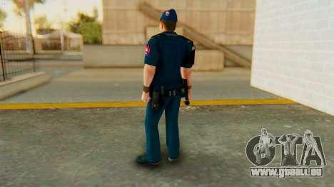 Lapd1 pour GTA San Andreas troisième écran