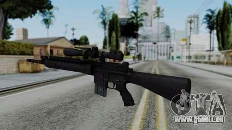 Arma AA MK12 SPR pour GTA San Andreas deuxième écran