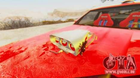Virgo v2.0 pour GTA San Andreas vue arrière