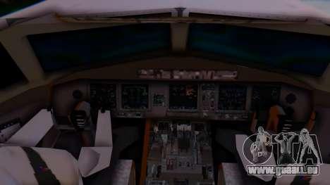 Boeing 777-9x British Airways pour GTA San Andreas sur la vue arrière gauche