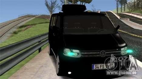 Volkswagen bus By.Snebes pour GTA San Andreas laissé vue