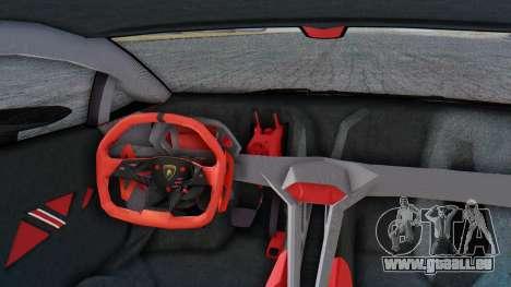 Lamborghini Sesto Elemento 2010 pour GTA San Andreas vue arrière