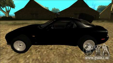 Mazda RX-7 Rusty Rebel für GTA San Andreas linke Ansicht