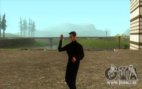 La Visite De Wu Zi Mu pour GTA San Andreas deuxième écran