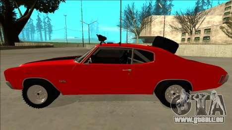 Chevrolet Chevelle Rusty Rebel pour GTA San Andreas