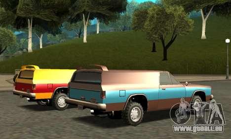 Picador Vagon Extreme pour GTA San Andreas moteur