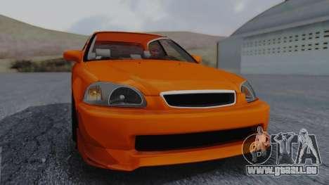Honda Civic EG Ferio pour GTA San Andreas vue de droite