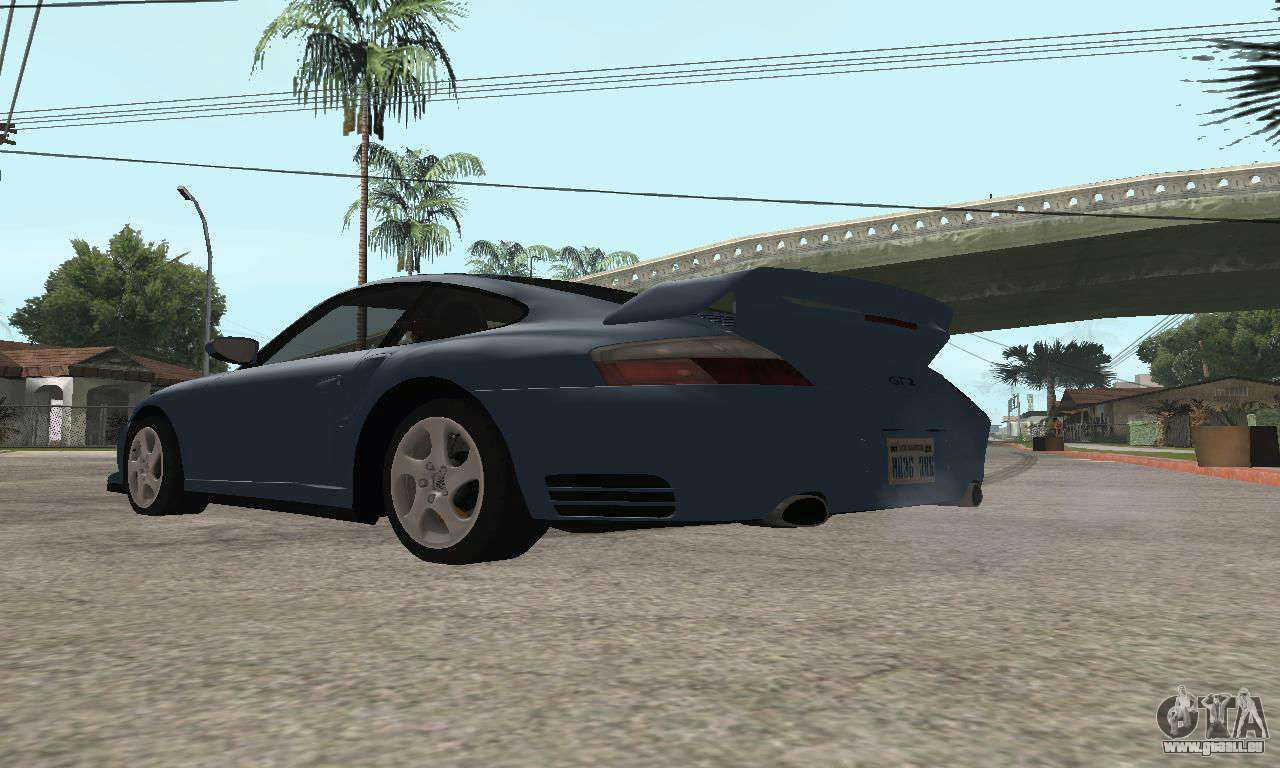 porsche 911 gt2 pour gta san andreas. Black Bedroom Furniture Sets. Home Design Ideas