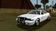 GTA 5 Vapid Stanier II Sheriff Cruiser IVF