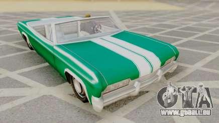 Blade F&F3 Mustang PJ pour GTA San Andreas