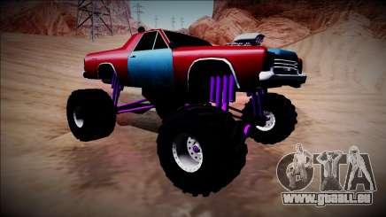 Picador Monster Truck für GTA San Andreas