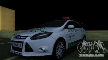 Ford Focus Taxi Tatarstan pour GTA San Andreas