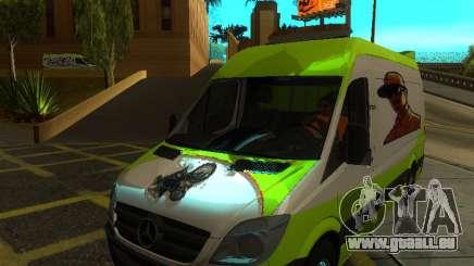 Mercedes-Benz Sprinter pour GTA San Andreas