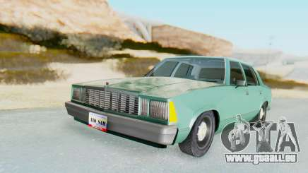 Chevrolet Malibu 1981 Twin Turbo pour GTA San Andreas