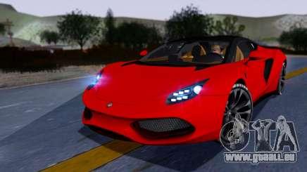 Arrinera Hussarya v2 Carbon für GTA San Andreas