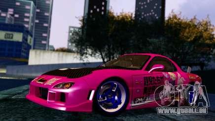 Mazda RX-7 Itasha pour GTA San Andreas