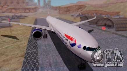Boeing 777-9x British Airways für GTA San Andreas