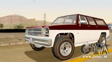 GTA 5 Declasse Rancher XL IVF pour GTA San Andreas