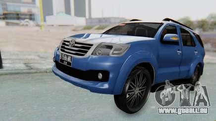 Toyota Fortuner TRD Sportivo Vossen für GTA San Andreas