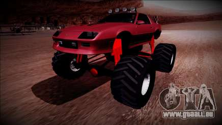 1990 Chevrolet Camaro IROC-Z Monster Truck pour GTA San Andreas