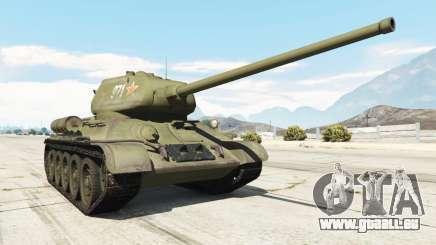 T-34-85 pour GTA 5