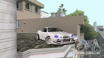 Nissan Skyline R34 Pickup pour GTA San Andreas