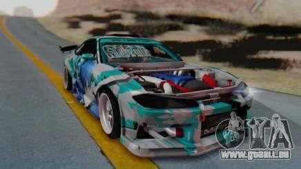 Nissan Silvia s15 Itasha [EDE-Crew] pour GTA San Andreas