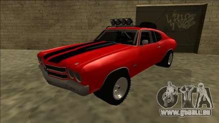 Chevrolet Chevelle Rusty Rebel pour GTA San Andreas