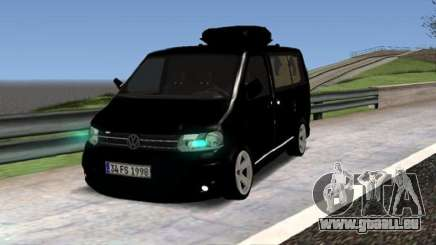 Volkswagen bus By.Snebes pour GTA San Andreas