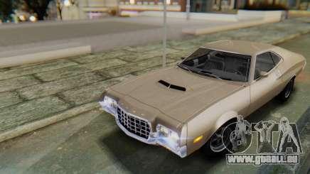 Ford Gran Torino Sport SportsRoof (63R) 1972 PJ2 pour GTA San Andreas