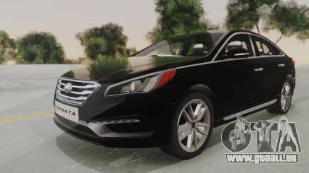 Hyundai Sonata Turbo 2.0 2015 V1.0 Final pour GTA San Andreas
