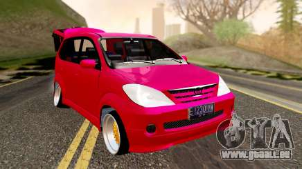 Toyota Avanza Best Modification pour GTA San Andreas