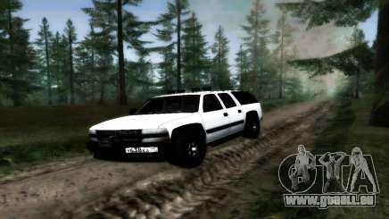 Chevrolet Suburban Offroad Final Version pour GTA San Andreas