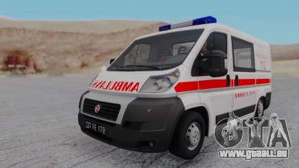 Fiat Ducato Turkish Ambulance für GTA San Andreas