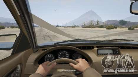 GTA 5 GTA 4 Enus Cognoscenti arrière droit vue de côté