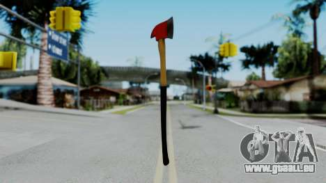 No More Room in Hell - Fire Axe für GTA San Andreas zweiten Screenshot