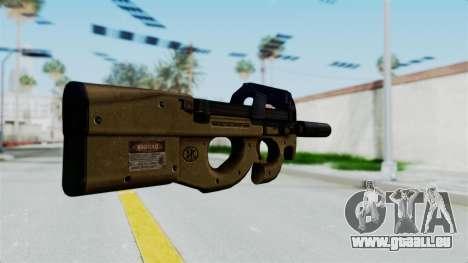 P90 Sand Frame für GTA San Andreas zweiten Screenshot