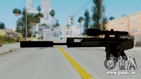 SCAR-20 v1 Folded pour GTA San Andreas