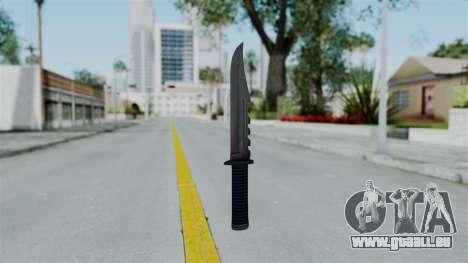 GTA 5 Knife pour GTA San Andreas