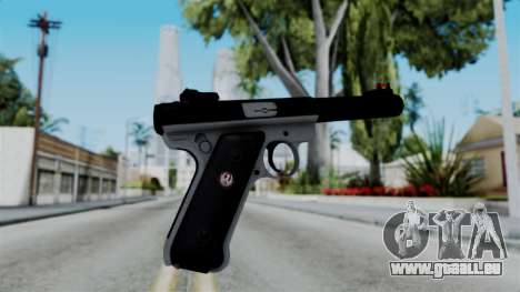 No More Room in Hell - Ruger Mark III für GTA San Andreas zweiten Screenshot