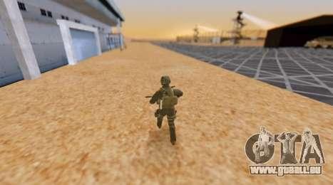 L'armée de l'heure pour GTA San Andreas
