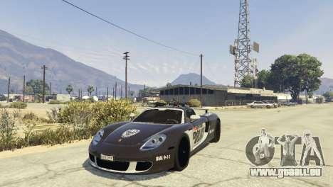 Porsche Carrera GT Cop für GTA 5