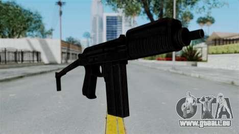 9A-91 Ironsight pour GTA San Andreas deuxième écran