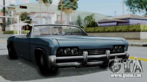 Blade Beach Bug für GTA San Andreas zurück linke Ansicht